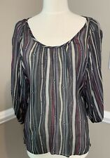 NWT Drew striped Tunic Top for women
