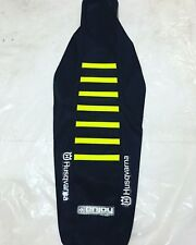 ENJOY Factory Seat Cover Husqvarna FC450 16 17 18 Black Neon Ribs Motocross