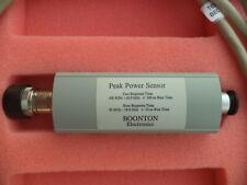 Boonton 57518 Peak Power Sensor, 0.1 to 18Ghz, -50 to +20 dBm Calibrated