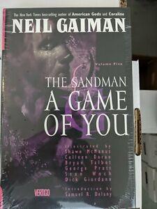 DC Vertigo Sandman HC Volume 5 A Game of You 2009 Edition Hardcover Gaiman