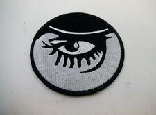 "NEW 2 3/4"" Clockwork Orange Eye Patch Punk Goth Black Metal Kubrick Steampunk"