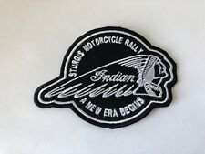 Indian Motorcycle Sturgis Rally Patch Sew-on/Glue-on Leather Jacket NEW