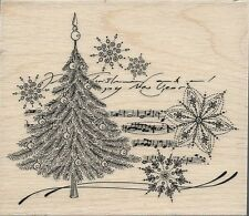 """Christmas Music"" Rubber Stamp by Penny Black"