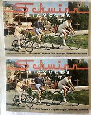 TWO vintage 1967 Schwinn dealer bicycle sales catalogs Sting-Ray original