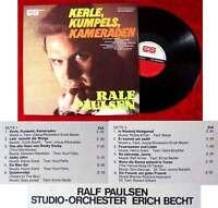 LP Ralf Paulsen: Kerle, Kumpels, Kameraden (Cornet 16 031) D