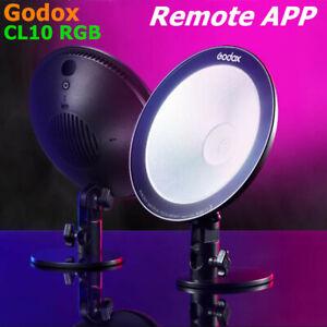 Godox CL10 RGB LED Webcasting Ambient Light Multi-Color Video Studio Fill Light