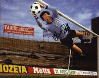Dino Zoff Autografo Sport Calcio Nazionale Italiana Mondiali Signed Photo