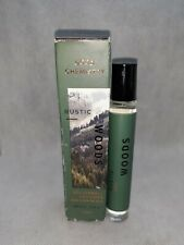 New Good Chemistry RUSTIC WOODS Rollerball Cologne w /Essential Oils 0.25 oz