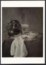Artist Postcard - National Gallery - Jan Janz Treck - Still Life, Pewter  LC5177