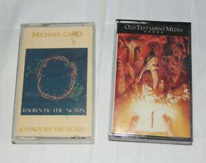 Religious Church Chapel Music Cassette Tape x3 Old Testament Media Michael Card