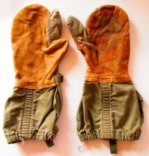 "Vintage 1951 Mitten Shell Trigger Finger ""M"" Mil M - 81CA Shooting Gloves"