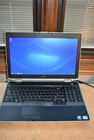 Dell Latitude E6530 Intel Core i7-3540M 3GHz 8GB RAM 128GB SSD Windows 7 Pro