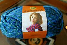 NEW Lion Brand Hometown USA Yarn Lake Tahoe Blue