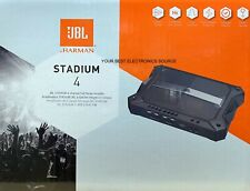 "NEW JBL ""STADIUM 4"", 4 ohm Stable 4-Channel Class-D Amplifier w/ Bass Knob"