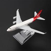 16cm Boeing 747 Air Qantas Aerolíneas Avión Aviones Modelo Metálico