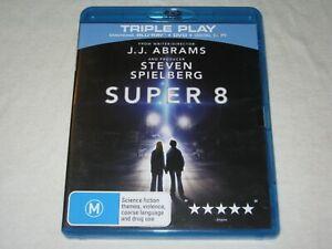 Super 8 - 2 Disc - Region B - VGC - Blu Ray