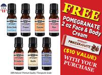 Fragrance Oil set of 7 Pure Aroma Fragrance Oil 10ML Diffuser Burner by Sponix