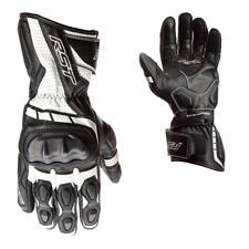 RST Achse Ce Herren Handschuh Schwarz/Weiß Größe 10 UK Lager 2020 Neu
