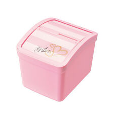 New Trash box Rubbish Garbage Container Car Accessories Pink Color