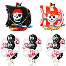 "31Pcs 26'' Foil Balloon PIRATE FUN PARTY DECORATION 12"" LATEX BIRTHDAY BALLOONS"