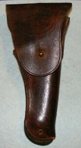 US M1916 holster Colt M1911A1 pistol Milwaukee Saddlery 1945 M1911 WW2 NR VG