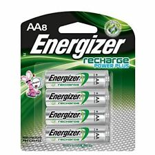 Energizer Recharge Power Plus AA 2300 mAh Rechargeable Batteries, Pre-Charged, 8