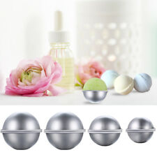 8Pcs DIY Metal Bath Bomb Mold 3 Sizes Alloy Bomb Balls Molds Crafting Tool UK