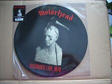 MOTORHEAD - WHAT'S WORDS WORTH? - PICTURE DISC VINYL LP - NEW AND UNPLAYED - RSD