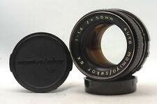@ Ship in 24 Hours! @ Rare! @ Auto Mamiya / Sekor SX 55mm f1.4 MF Prime M42 Lens