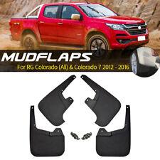 Set Mudguards For Holden Colorado RG 2012-on 7 Splash Guards Mud Flaps Mudflaps