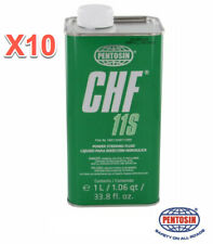 10 Liter Power Steering Hydraulic System Fluid PENTOSIN CHF11S Made in Germany