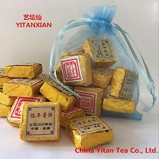 50g puerh compressedorganic pu'er brick  Mini Puer tea Black tea puer tea