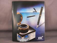 Mont Blanc Vintage l993 Pocket Catalog
