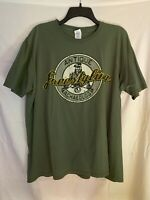 Antique Archaeology Freestyling Mens XL Green T-Shirt American Pickers (Stains)