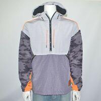 NWT SUPERDRY Cagoule Colorblocked Half-Zip Hooded Anorak Jacket Sz L