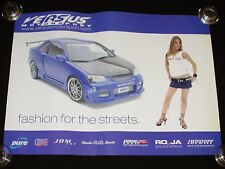 VERSUS MOTORSPORT Honda Civic Poster/Print Import Model ShowOff RO_JA Kosoku JDM