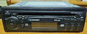 BLAUPUNKT RPD-435 FM/AM/CD Receiver with Detachable Face