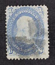 CKStamps: US Stamps Collection Scott#92 1c Franklin Used CV$450
