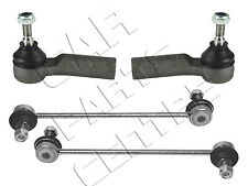 Per FORD FIESTA MK6 02-08 2x ANTERIORE antiroll Bar Link 2x OUTER TRACK ROD ENDS