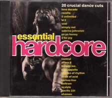 Compilation - Essential Hardcore - CD - 1991 - Eurohouse Techno Dino Ent.