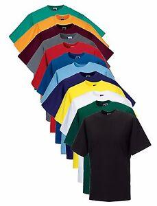 Russell Jerzees 180M Coton Uni T-Shirt Non Logo S-4XL