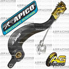 Apico Black Yellow Rear Brake Pedal Lever For Suzuki RMZ 250 2011 Motocross New