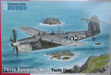 "FAIREY BARRACUDA Mk.II ""Pacific Fleet"" 1/72 SPECIAL HOBBY"