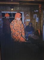 Vintage Photo Slide Deer Camp November 1993 Hunters Cabin