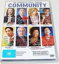 COMMUNITY – THE COMPLETE FIRST SERIES  (DVD, 4-DISC SET) NEW, FREE SHIPPING