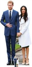 Prince Harry & Meghan Markle Lifesize and Mini Cardboard Cutout Standup wedding