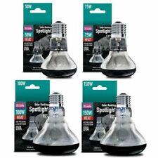 More details for arcadia basking solar spotlight - reptile uva e27 heat bulb lamp - spot lighting