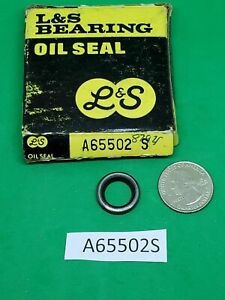 L & S Bearing Oil Seal A65502S same as National 8792S NOS