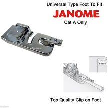 Nahtverdeckter RV-Fuss für Janome...
