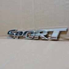 3D SPORT Logo Emblem Badge Sticker Metal Auto Car Racing Decal Decor Accessories